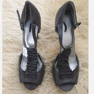 Grey, dressy heels